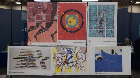 Antiques Roadshow -- S21 Ep13: Appraisal: 1984 Artist-signed Olympic Posters