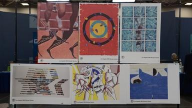 Appraisal: 1984 Artist-signed Olympic Posters