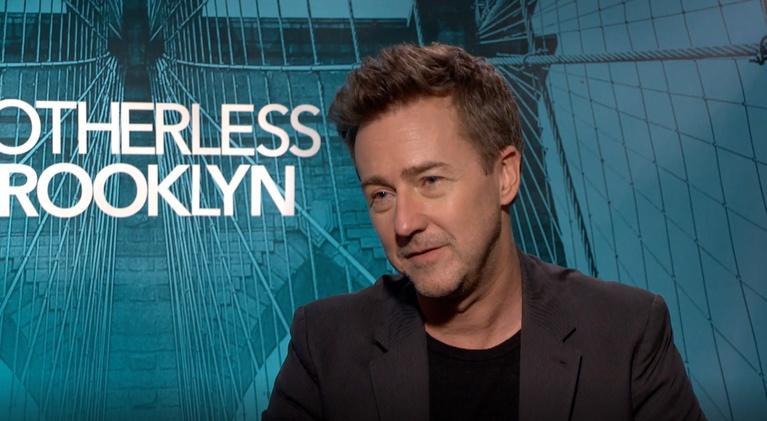 "Flicks: Edward Norton for ""Motherless Brooklyn"""
