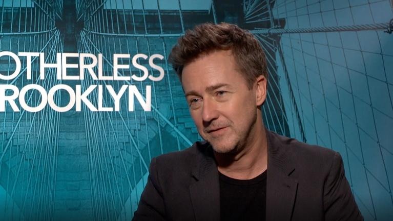 "Flicks: Edward Norton for ""Motherless Brooklyn"""