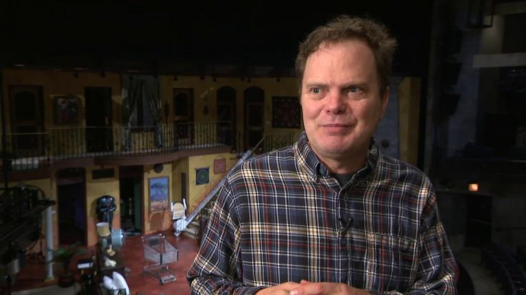 Chicago Tonight: Rainn Wilson at Steppenwolf In a Farce to be Reckoned With