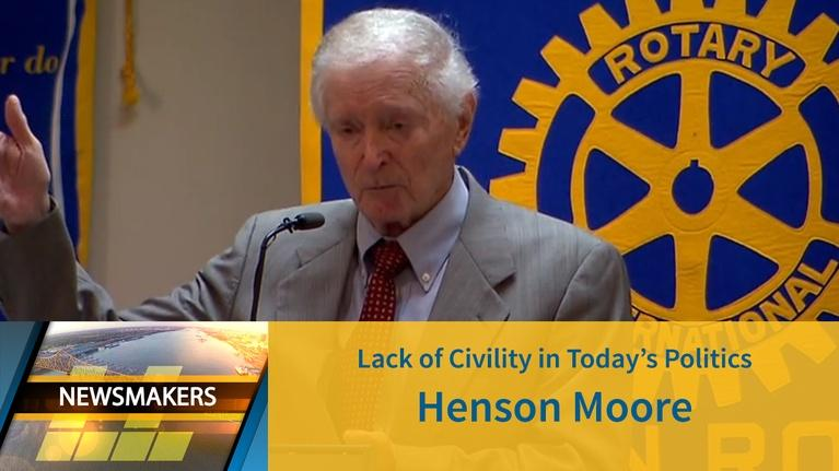 Newsmakers: Lack of Civility in Today's Politics | Henson Moore|04/24/19