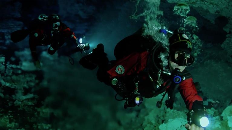 Wonders of Mexico: Cave Divers Explore the Yucatan's Underwater World