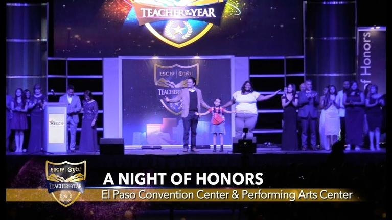 KCOS: ESC Region 19 Teacher of the Year Awards Celebration 2018-19