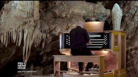 PBS NewsHour -- The Virginia cavern that can play the Moonlight Sonata