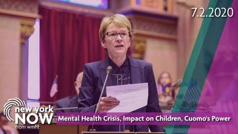 S2020 E27: Mental Health Crisis, Impact on Children, Cuomo's Power