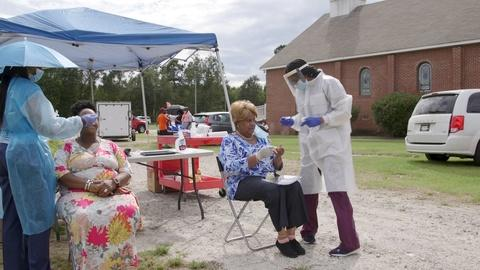 Local groups are running pop-up testing sites in SC