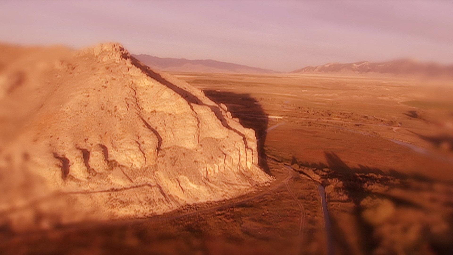 Beaverhead Rock (Journals of Lewis and Clark)