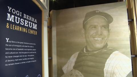 Yogi Berra's legacy lives on at his Montclair museum