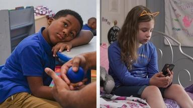 Two kids become each other's 'safe haven' after gun violence