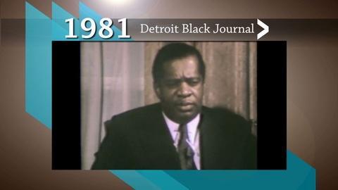 American Black Journal -- 1981 Detroit Black Journal Clip: Donald Byrd