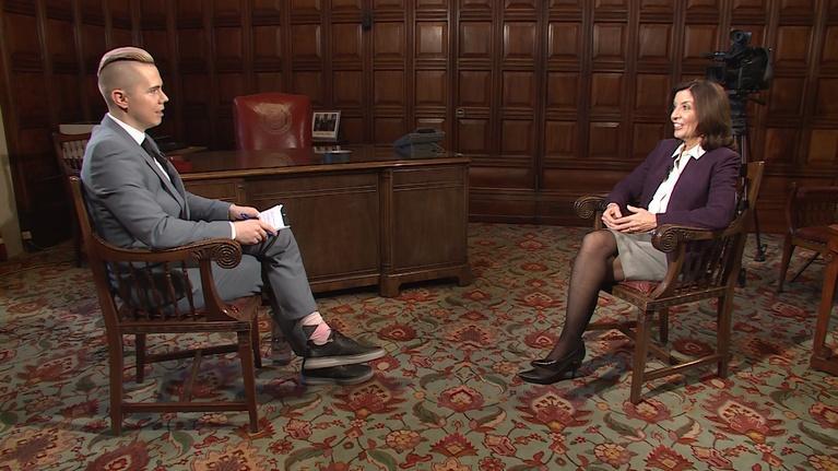 New York NOW: Lieutenant Governor Kathy Hochul, Gig Economy, Bail Reform