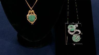 Appraisal:  Jade Pendant & Compact