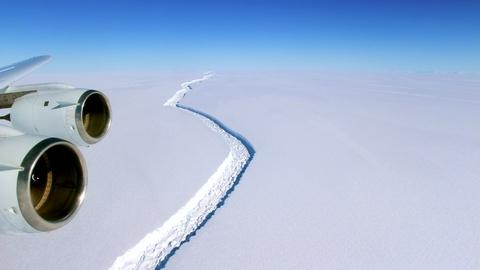 PBS NewsHour -- One of the biggest icebergs ever just broke off Antarctica