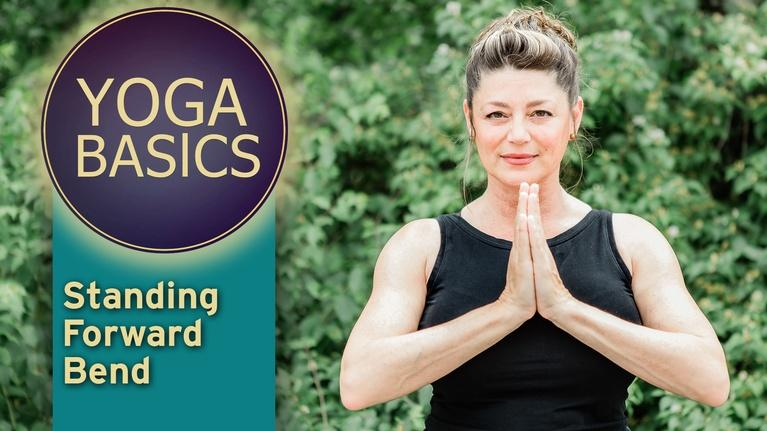 Yoga Basics with patty: Yoga Basics with patty: Standing Forward Bend