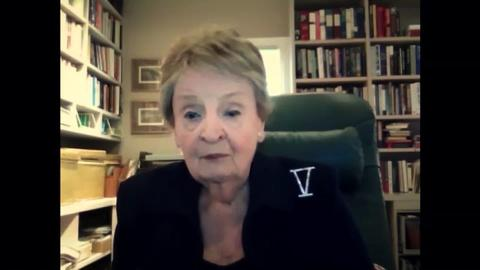Madeleine Albright Calls for American Diplomacy