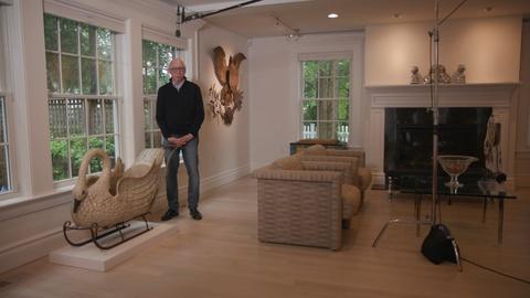 Antiques Roadshow -- Digital Short: Katz — See Inside Allan Katz's Living Room