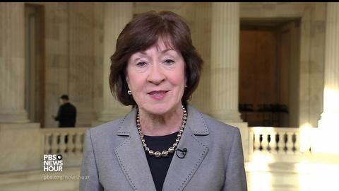 PBS NewsHour -- Collins: Comey's firing 'perhaps inevitable'