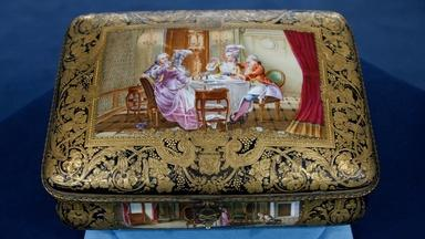 Appraisal: Sevres-style Painted Porcelain Box, ca. 1905