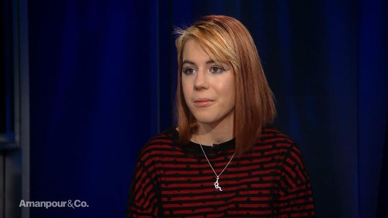 Amanpour and Company: Environmental Youth Activist Anna Taylor