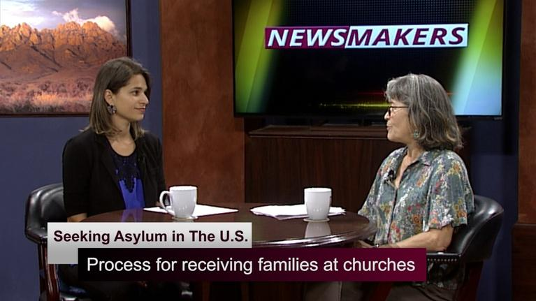 KRWG Newsmakers: Newsmakers 1115 - Seeking Asylum in The U.S.