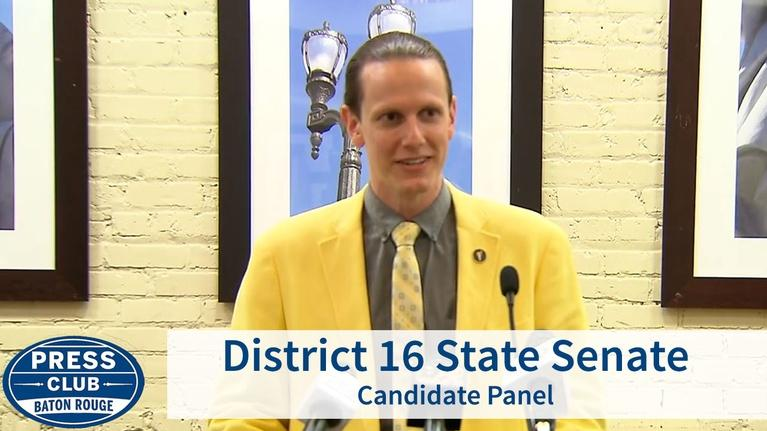 Press Club: Dist. 16 State Senate Panel | 08/26/19 | Press Club
