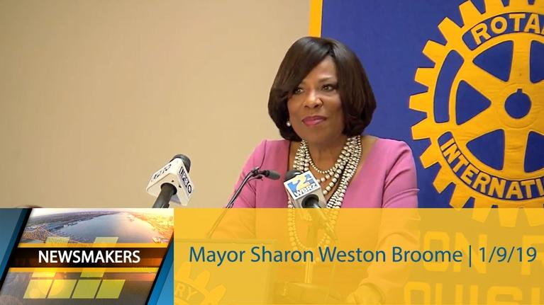 Newsmakers: Mayor Sharon Weston Broome | Newsmakers | 1/9/19