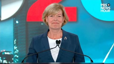 Tammy Baldwin's full speech | 2020 DNC Night 4