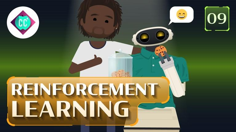 Crash Course: Artificial Intelligence: Reinforcement Learning #9