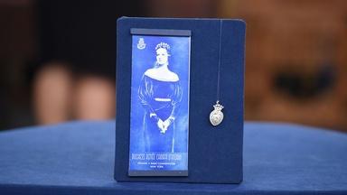 Appraisal: Gold, Platinum & Diamond Pendant Brooch, ca. 1900