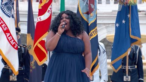 "A Capitol Fourth -- Kyla Jade Performs ""The Star-Spangled Banner"""