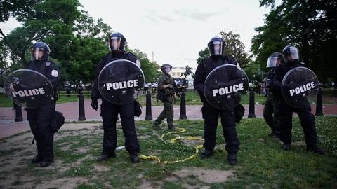Current protests highlight risks of militarizing the police