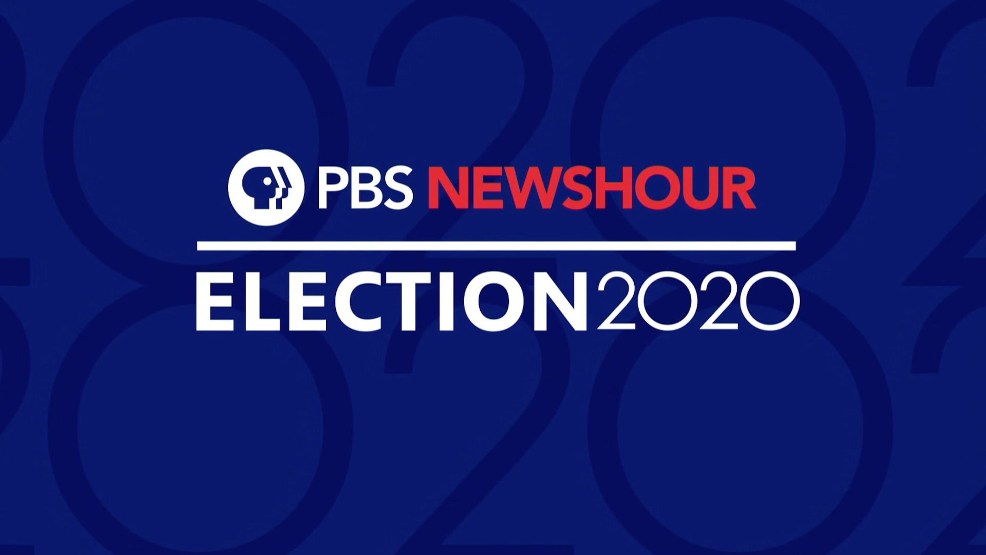 PBS Newshour Election Night Coverage 2020