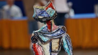Appraisal: Marcello Fantoni Ceramic Figure, ca. 1955