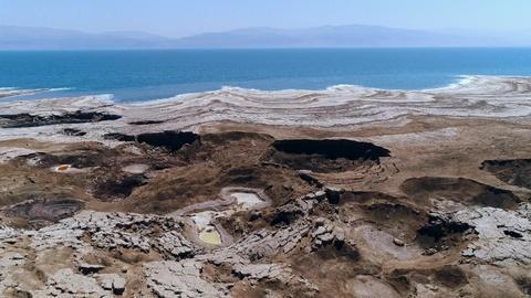 NOVA -- Scientists Use Drones to Track Dead Sea Sinkholes