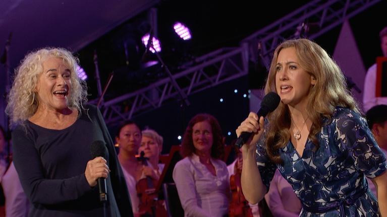 """A Capitol Fourth: Carole King, Vanessa Carlton Perform """"I Feel the Earth Move"""""""
