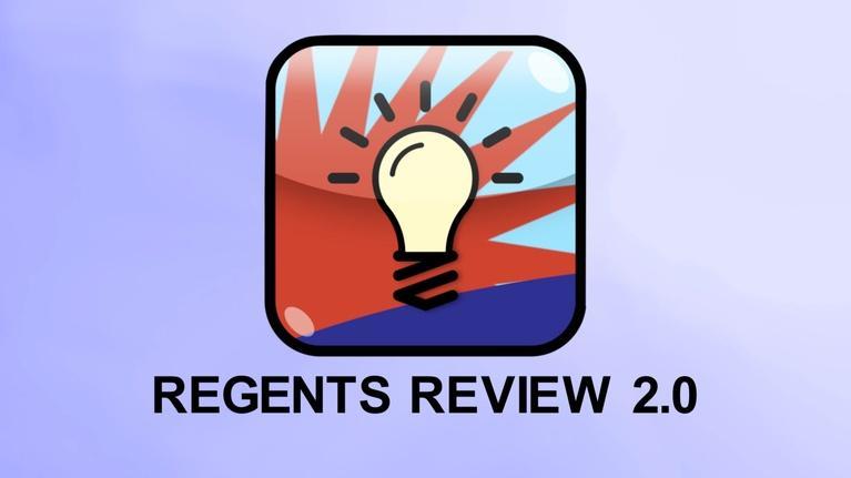 Regents Review: Regents Review 2.0 2018 Promo