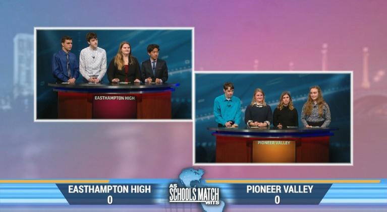 As Schools Match Wits: Easthampton vs.Pioneer Valley Regional (Jan. 18, 2020)