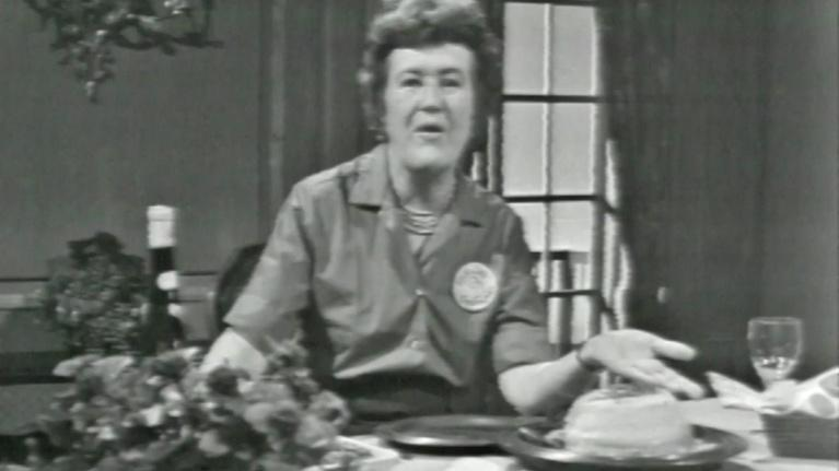 The French Chef with Julia Child: Non-collapsible Cheese Soufflé