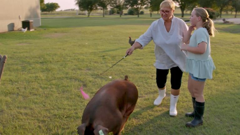 Lidia Celebrates America: Lidia & Kate's Pigs