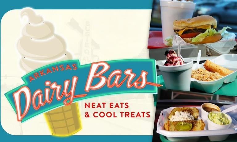 Arkansas Dairy Bars: Neat Eats & Cool Treats