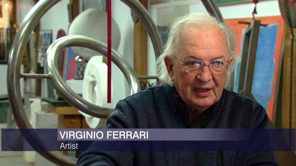 Inside the Studio of Italian Sculptor Virginio Ferrari image