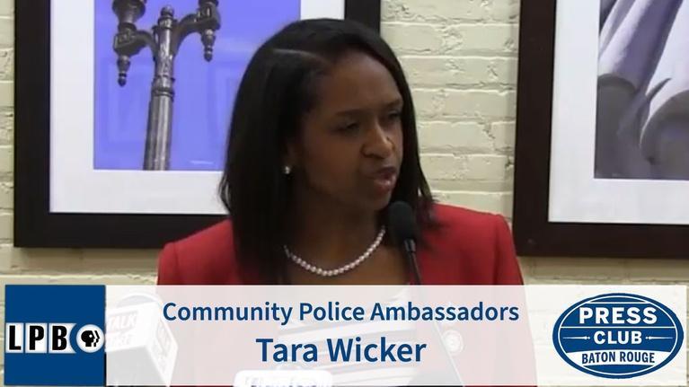 Press Club: Community Police Ambassadors | Tara Wicker | 02/03/20