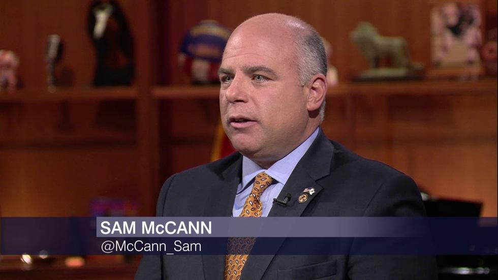Sam McCann Challenging Primary Winners in Governor's Race image