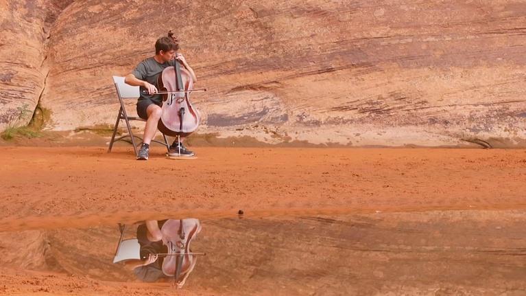 PBS NewsHour: Moab Music Festival draws fans to Utah's ethereal desert