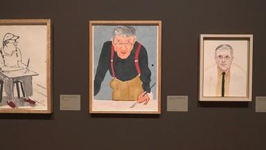 NYC-ARTS CHOICE: Morgan, David Hockney
