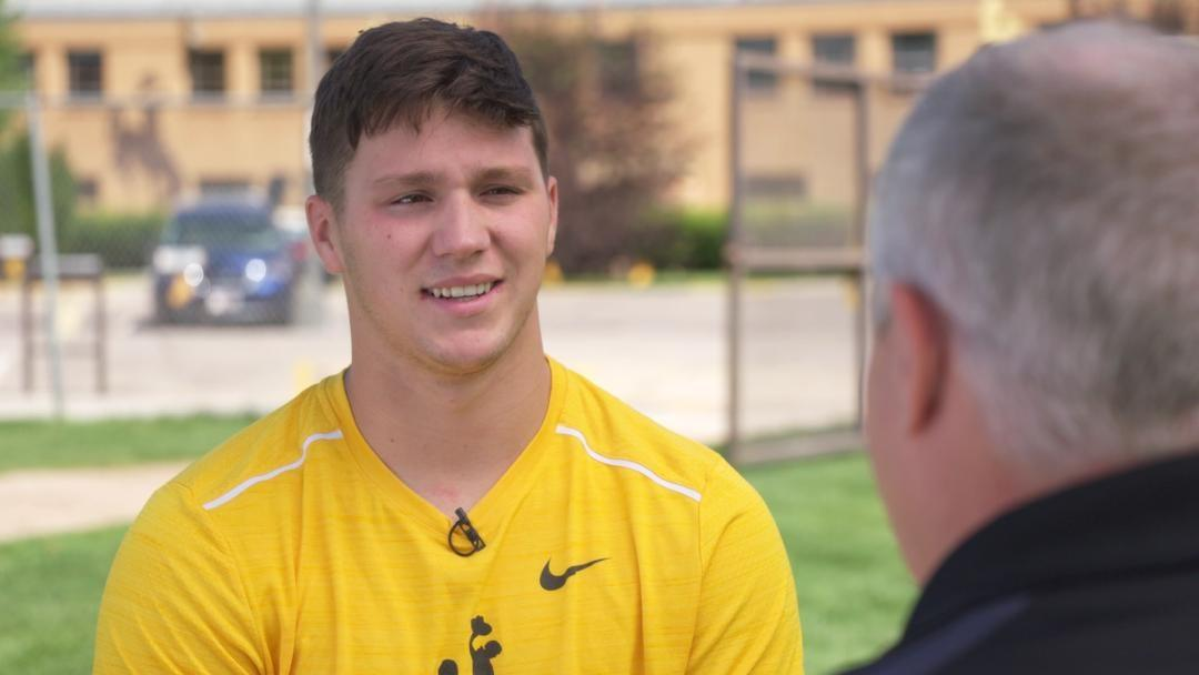 Josh Allen, Gun Slinging Quarterback for the Wyoming Cowboys