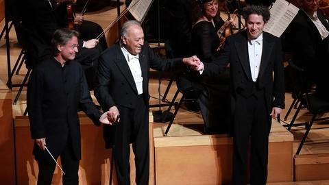 S47 E21: Dudamel, Mehta, & Salonen Conduct Together