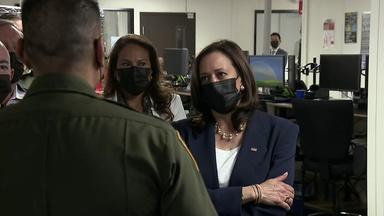 Vice President Kamala Harris Visits The Border