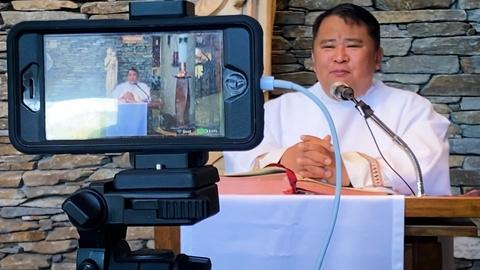 SoCal Connected -- Rev. Albert Avenido Takes His Parish Online